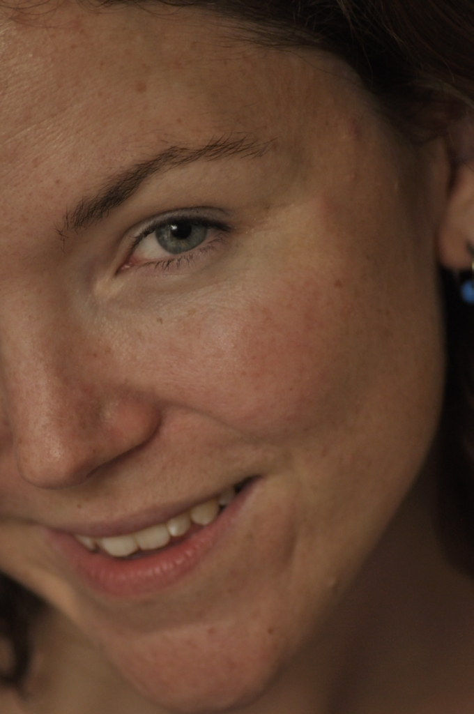 Face Girl Brown hair Eyes