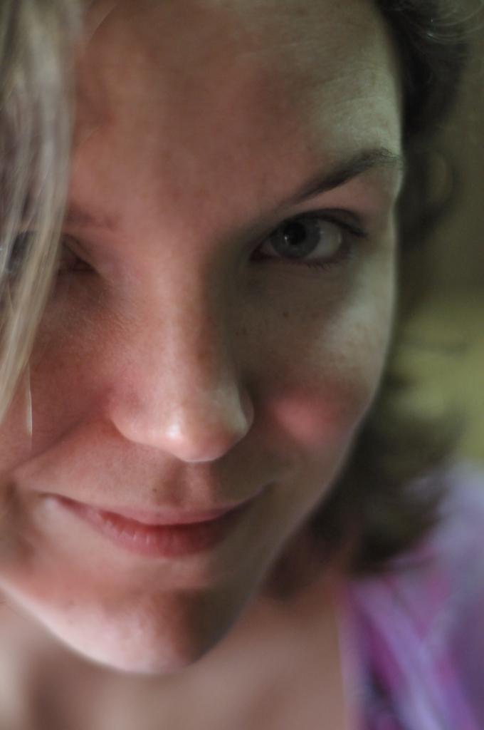 Face Girl Brown hair Smile Eyes
