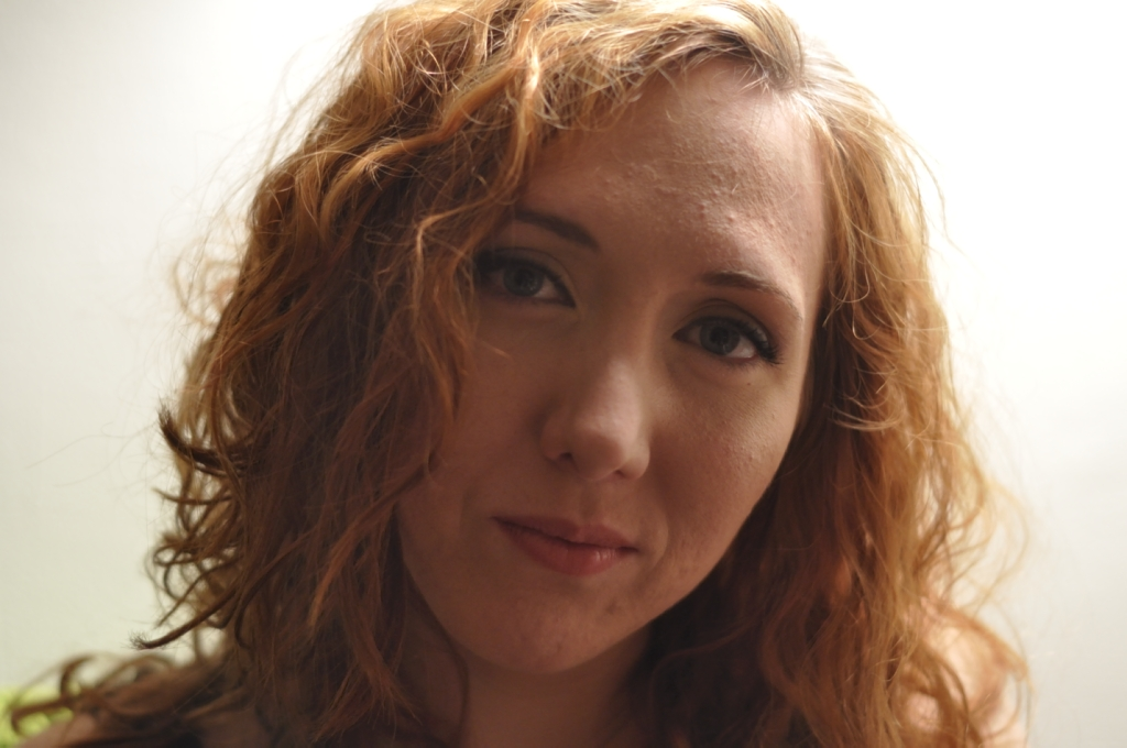 Face Girl Red hair Curly