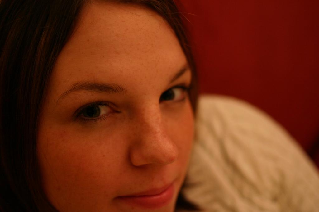 Girl Face Brown hair Teenage Cute