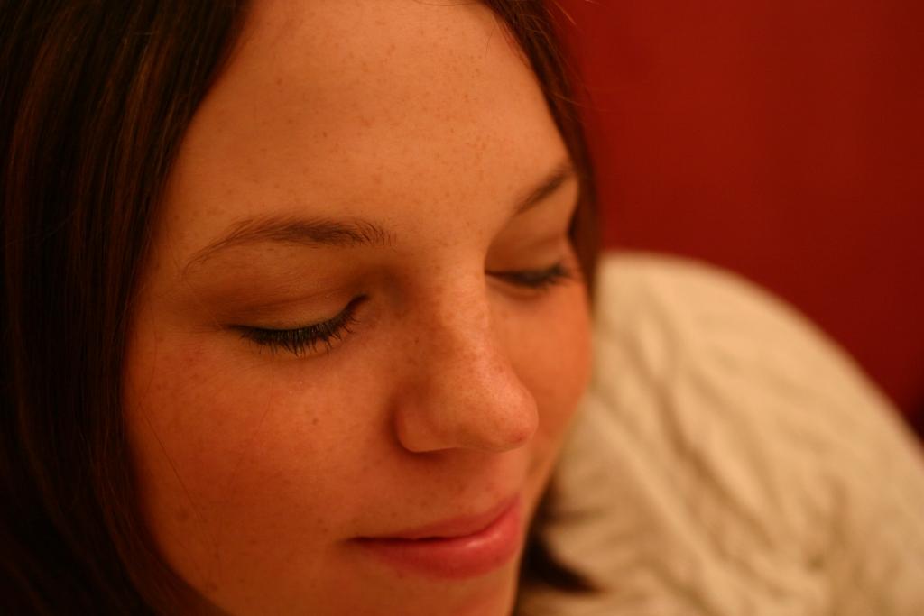 Girl Face Brown hair Teenage Medium hairstyles