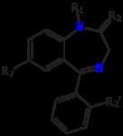 Benzodiazepine molecule