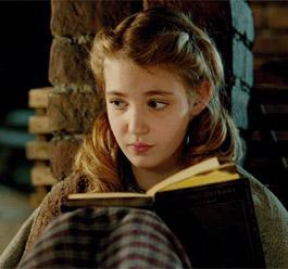 """Sophie Nélisse in """"The Book Thief"""""""