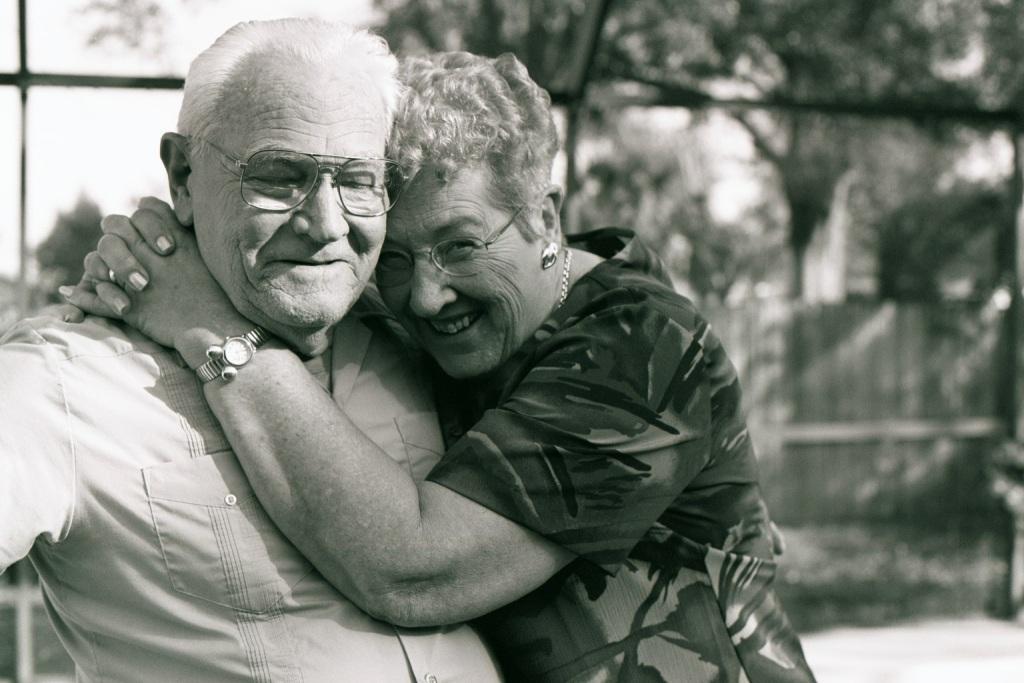 Grandma and Grandpa are still in love