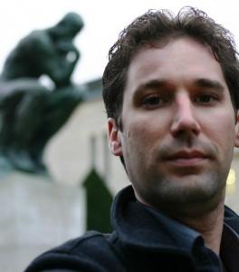 Hunter Hogan in Paris at the Musee Rodin