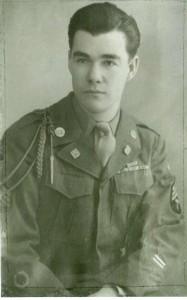 My grandfather, Pa, in his World War II uniform wearing the watch I have now