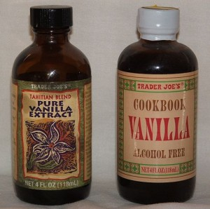 """Vanilla extract"" by Glane23 - Own work. Licensed under Creative Commons Attribution-Share Alike 3.0 via Wikimedia Commons - https://commons.wikimedia.org/wiki/File:Vanilla_extract.JPG#mediaviewer/File:Vanilla_extract.JPG"