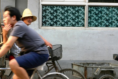 Man in hutong, Beijing