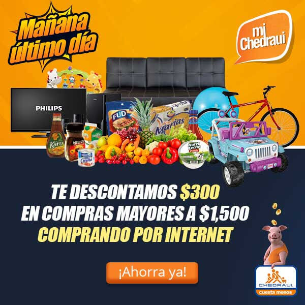 Chedraui coupon