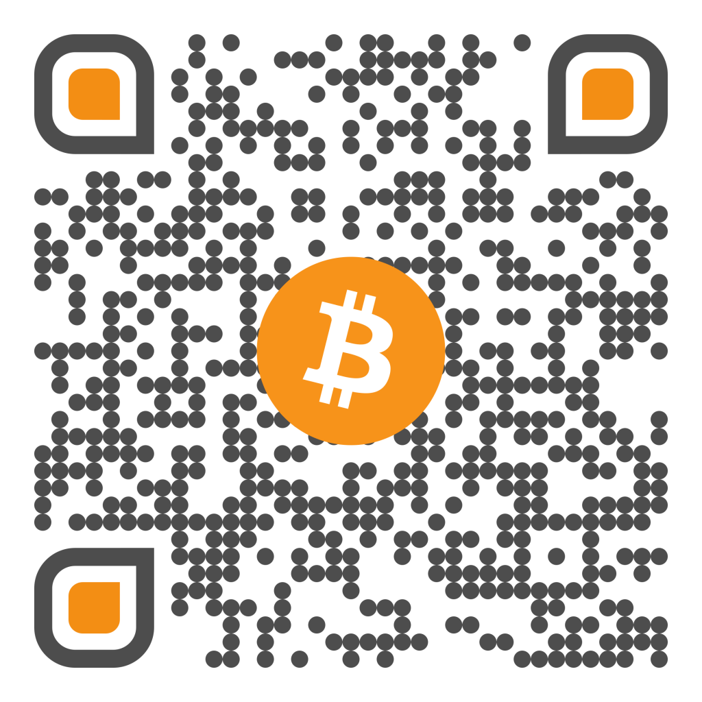 QR cryptocurrency Bitcoin