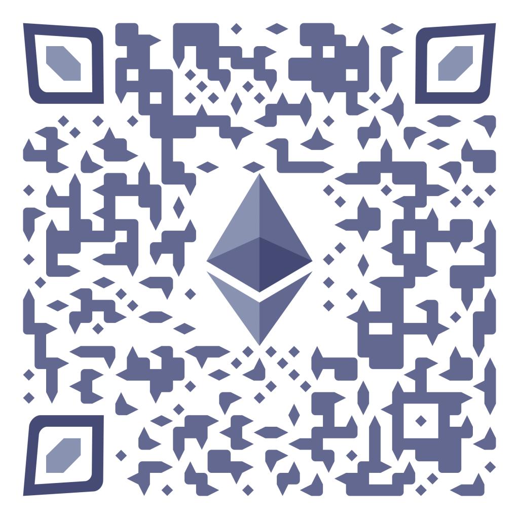 QR cryptocurrency Ethereum