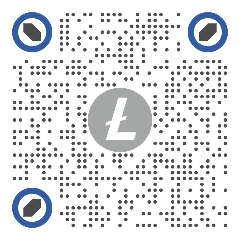QR cryptocurrency Litecoin