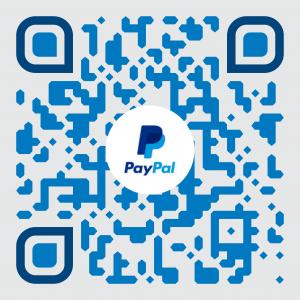 Código QR para PayPal.me/HunterHogan